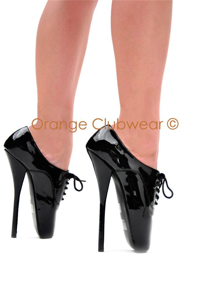 pleaser 7 034 high heel ballet 039 s black