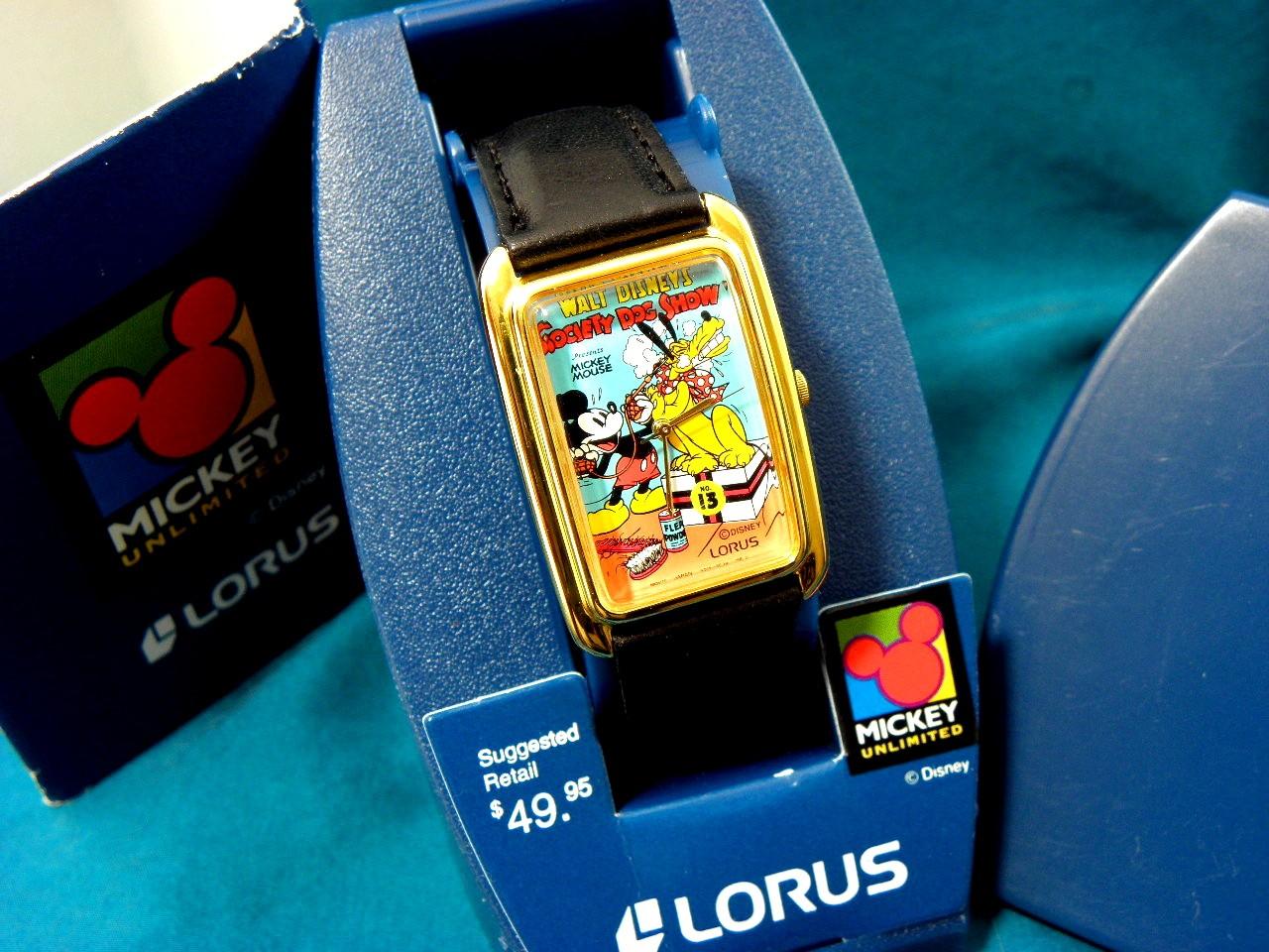 Vintage Bradley Disney Watches
