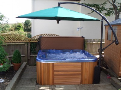 Hot Tub Umbrellas uk Hot Tub Umbrella Spabrella
