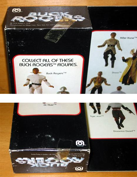 HIGH GRADE 12 Mego TV Movie Buck Rogers Large Doll DRACO vtg Action