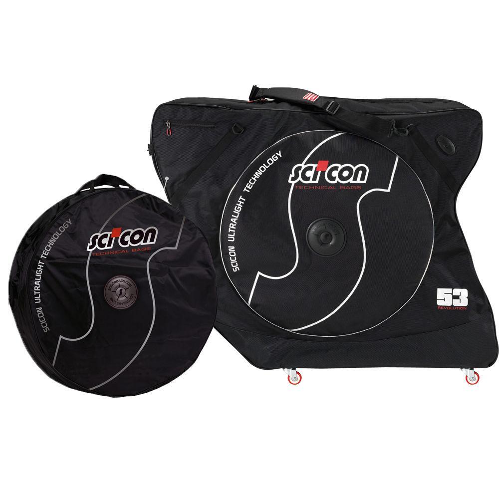Scicon-AeroComfort-2-0-TSA-Bike-Carry-Travel-Bag-Bicycle-Road-Case-Bonus-Wheel