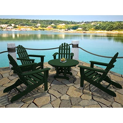 Patio Furniture Chairs On Adirondack Chairs Table Set Outdoor Patio  Furniture Ebay