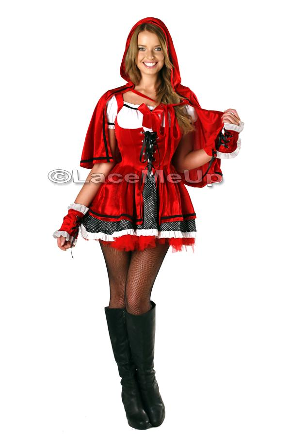 Adult Red Riding Hood Costume Deluxe Riding Hood Costume