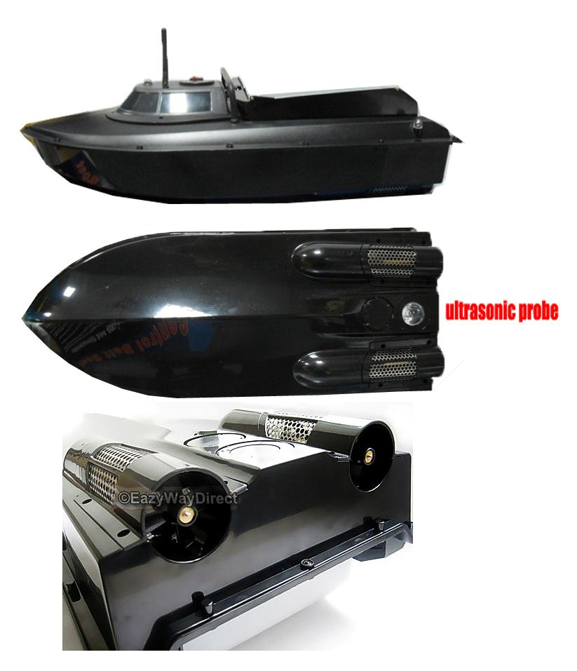 New 2014 rc fish finder boat bait sonar upgrade jabo 2bl for How does a fish finder work