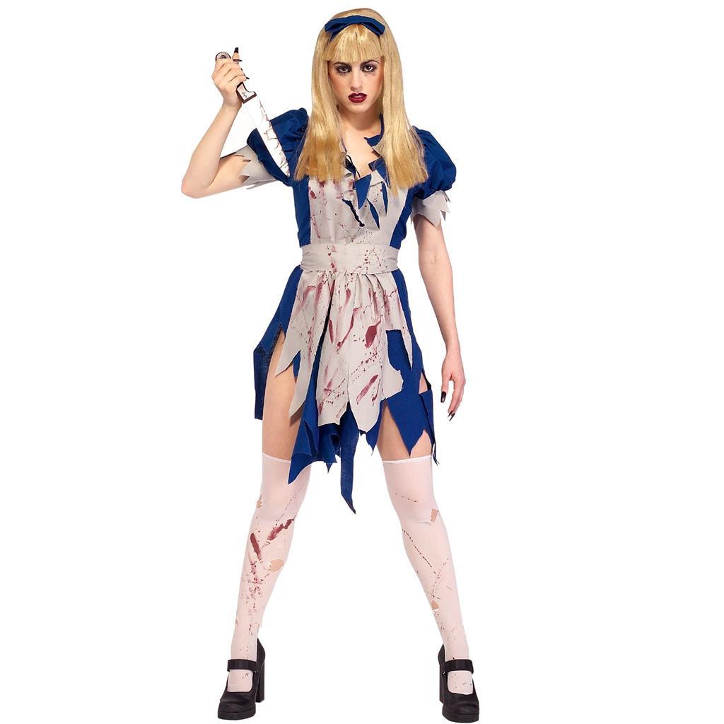 Licensed malice in horror land wonderland costume fancy halloween