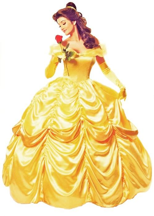 Deluxe Disney Belle Costume Beauty The Beast Movie Fancy