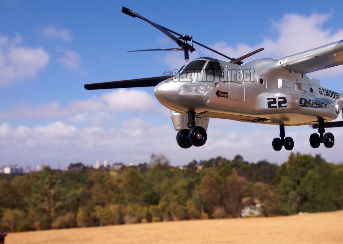 Elicottero Osprey : New big v channel ghz remote control osprey rc