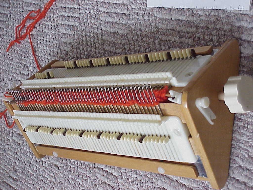 Knitting Loom Machine : Simple frame simpleframe lap knitting machine loom