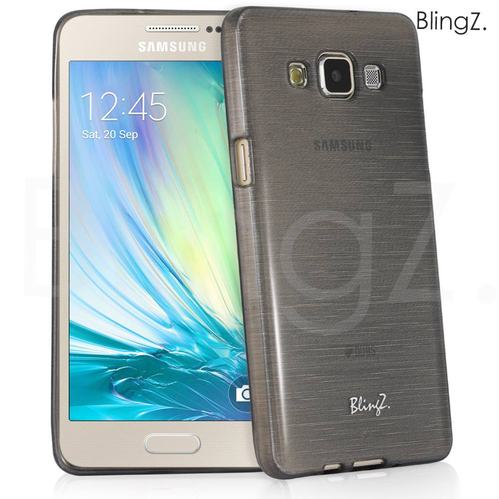 Brushed TPU Gel Silicone Thin Case Cover For Samsung Galaxy A5