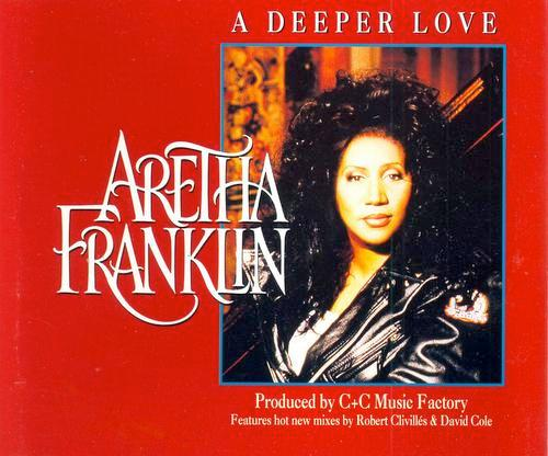 ARETHA FRANKLIN - A DEEPER LOVE - CD single
