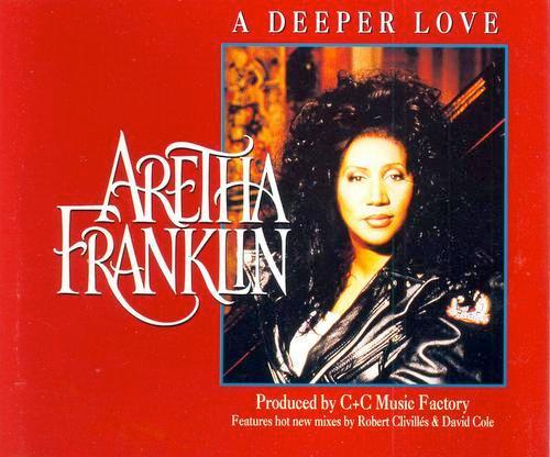ARETHA FRANKLIN - A DEEPER LOVE - CD single