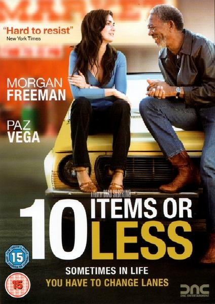 MORGAN FREEMAN - 10 ITEMS OR LESS - DVD