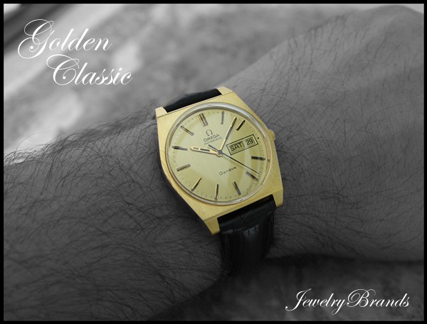 Omega Geneve Gold Band