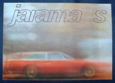 Lamborghini Jarama s 400 GT Sales Brochure 1974   eBay