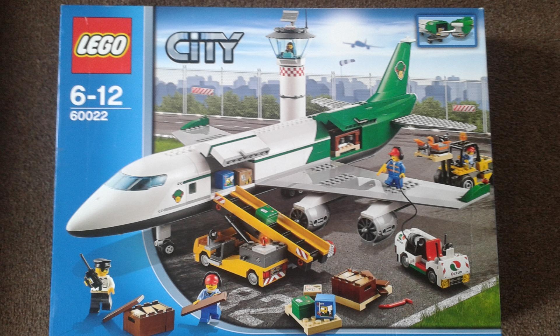 LEGO 60022,CITY AIR PORT TERMINAL AND PLANE .NEW SEALED ...