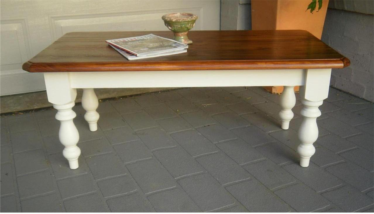 French Country Beach House Style Coffee Table Ebay