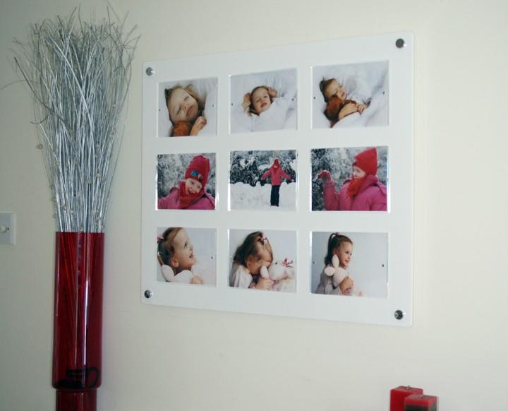 Bulk plastic poster frames