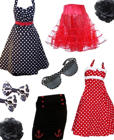 Vintage Retro Fashion Blog Get The 50s Look At Rainbow
