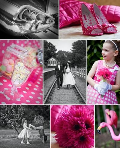 50s wedding montage