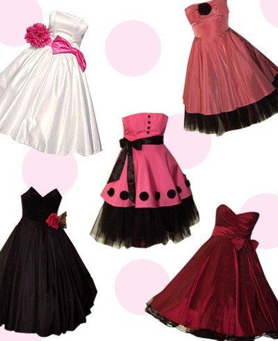 Vintage amp retro fashion blog 50s prom dresses