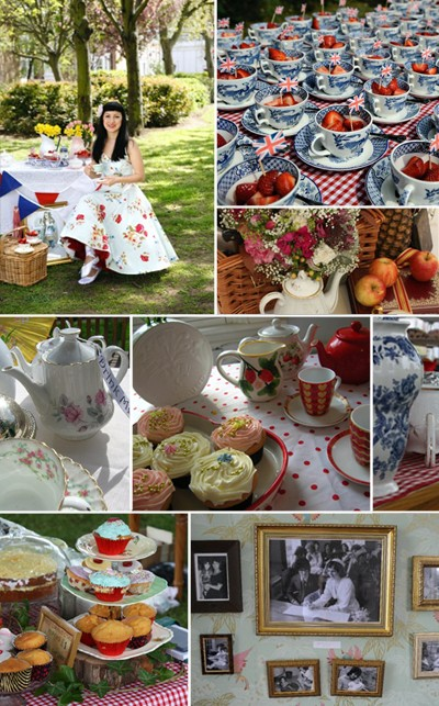 The 50s style wedding blog 50s wedding decorations for 50s wedding decoration ideas