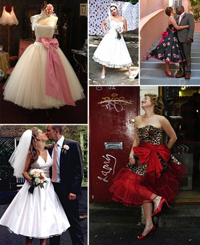 Candy Anthony 50s Style Wedding Dresses