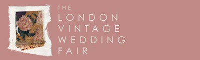 London vintage wedding fair logo