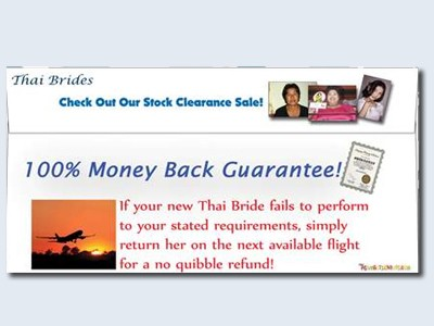 Bride Prank Envelope Thai 75