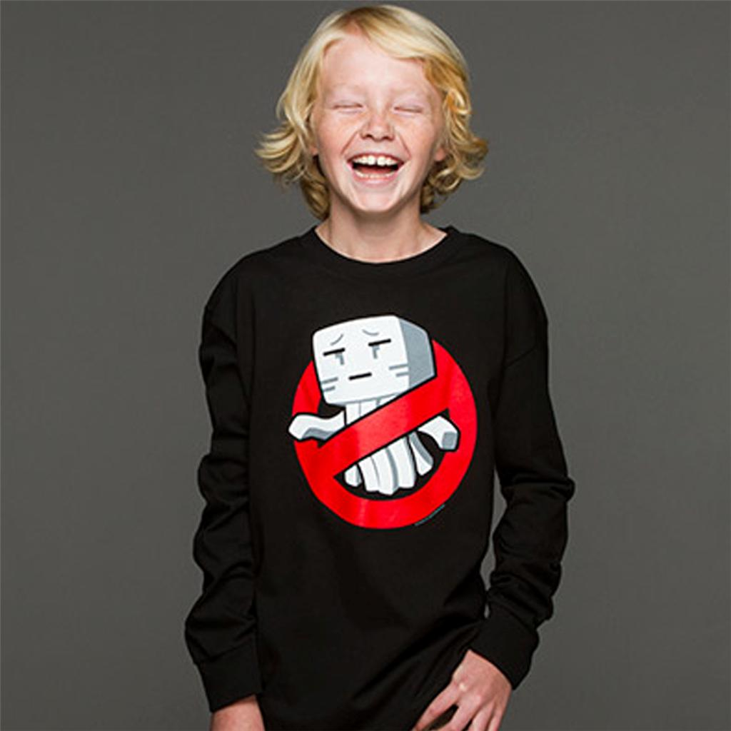 Minecraft-Ghastbusters-Boys-8-20-Long-Sleeve-Official-Merchandise-Xbox-360