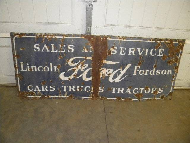 Old Ford Lincoln Parts Service Auto Dealer Tractor SSP ...