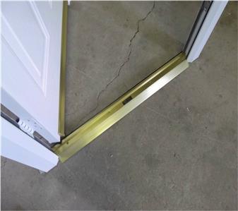 New white grp composite back door upvc frame 880mm x for New upvc door and frame