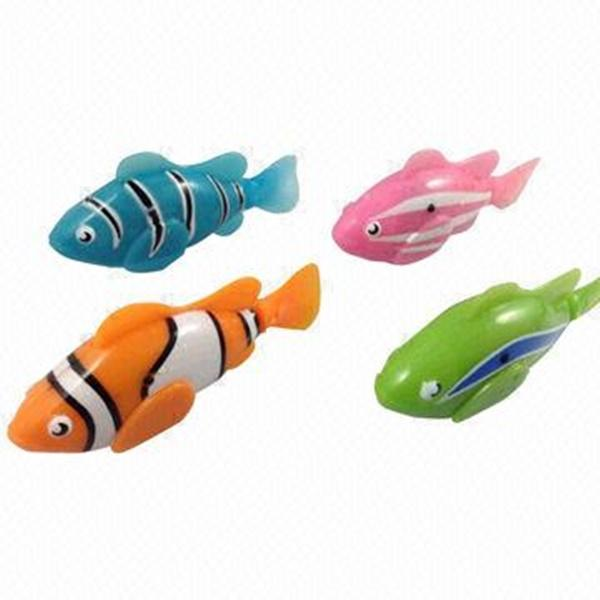 4 electric swimming fish water activated battery operated