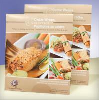 Gourmet Cedar Grilling & Baking Wraps 4 ct Pack of 2