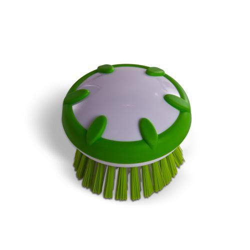 Curious Chef Green Fruit & Vegetable Scrubber Palm Brush