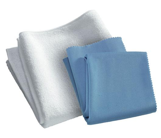 E Cloth Window & Glass Eco Friendly Micro Fiber Cleaning Cloths 2 Pk