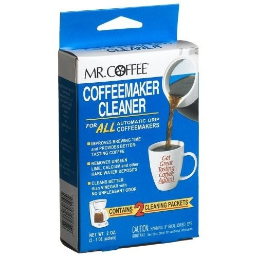 Mr Coffee Automatic Drip Coffeemaker Cleaner Descaler 9 Pack Case