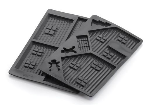 Chefs Toolbox Silicone Gingerbread House Baking Mold Set