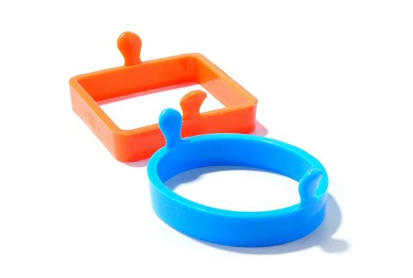 Chefs Toolbox Silicone Egg and Pancake Rings Set of 2