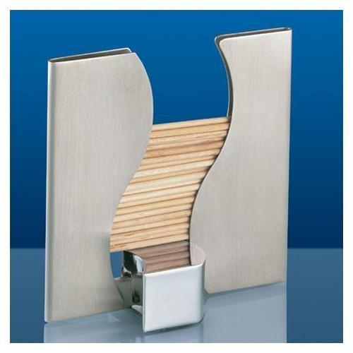 Cilio stainless steel slim toothpick dispenser holder c301120 ebay - Stainless steel toothpick dispenser ...