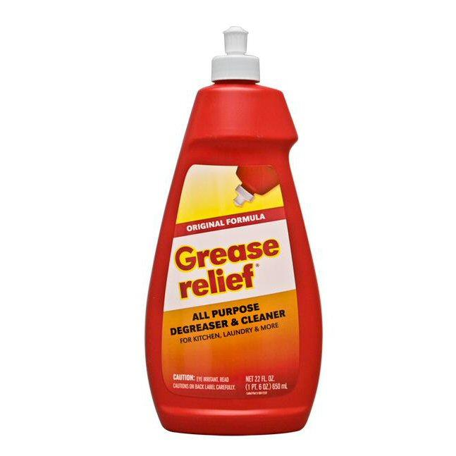 Grease Relief Original Formula All Purpose Degreaser Cleaner 4pk X 22oz