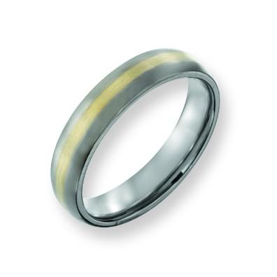 Chisel Tungsten Mens Rings