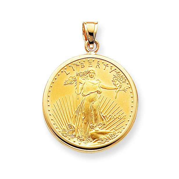 14k yellow gold polished bezel pendant only mounting for 1 for What is gold polished jewelry