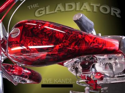 Harley Motorcycle Tank Fender Paint Set Custom Paint