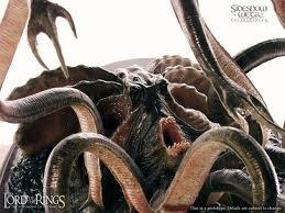 Squid Monster Lord Of The Rings