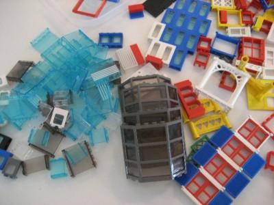 50 Lego Doors Windows Fences Pieces Lot House Town City Ebay