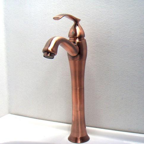 Antique Copper Bathroom Basin Faucet Mixer Tap 6305c Ebay
