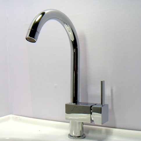 details about brand new chrome kitchen sink faucet mixer tap k023