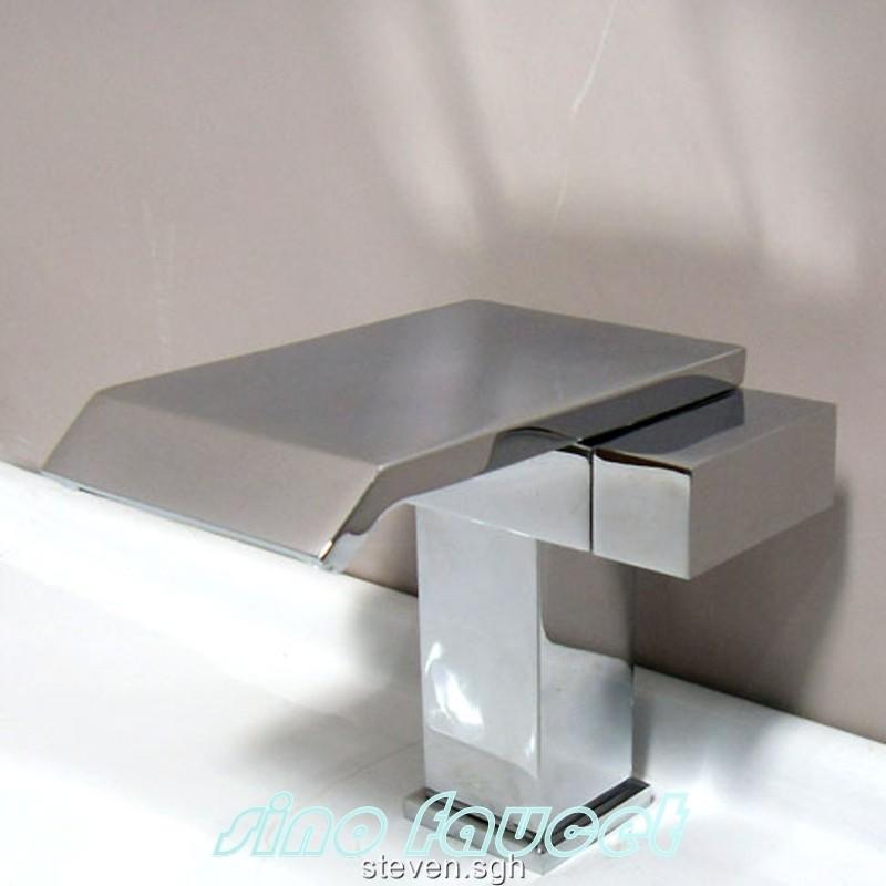 cascade design waterfall robinet mitigeur lavabo a068  ebay