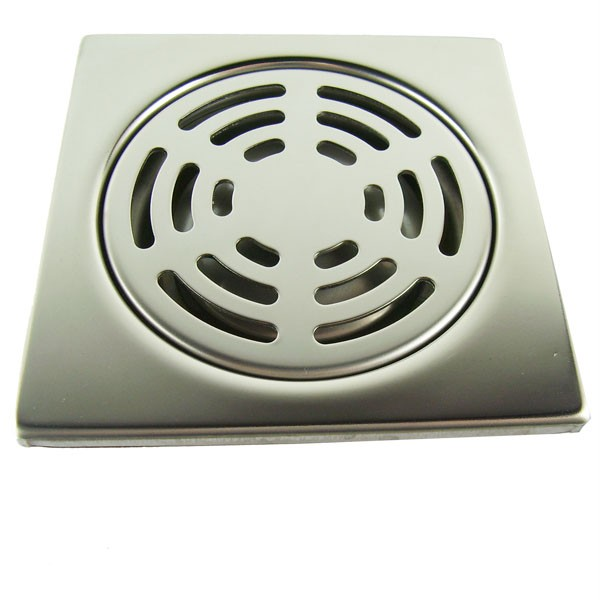 Details about Brand New Shower Drain Square Floor Waste Grate FW-17