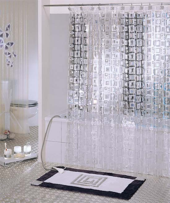 Clear Shower Curtain Liner Extra Long Clear Shower Curtain Rod